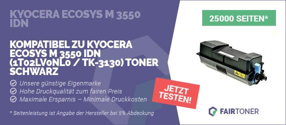 Kompatible Tonerkartusche für Kyocera Ecosys M 3550 idn