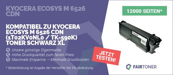 Kompatible Tonerkartusche für Kyocera Ecosys M 6526 cdn