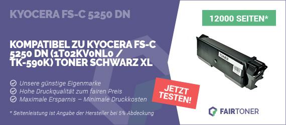 Kompatible Tonerkartusche für Kyocera FS-C 5250 DN