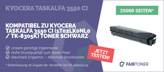 Kompatible Tonerkartusche für Kyocera TASKalfa 3550 ci
