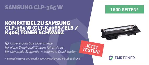 Kompatible Tonerkartusche für Samsung CLP-365 W